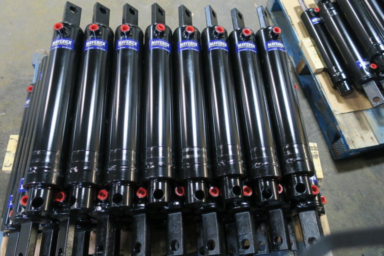 Skid of Hydraulic Cylinders