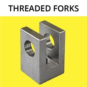 Threaded Forks Maverick Machine Hydraulics Custom Cylinders