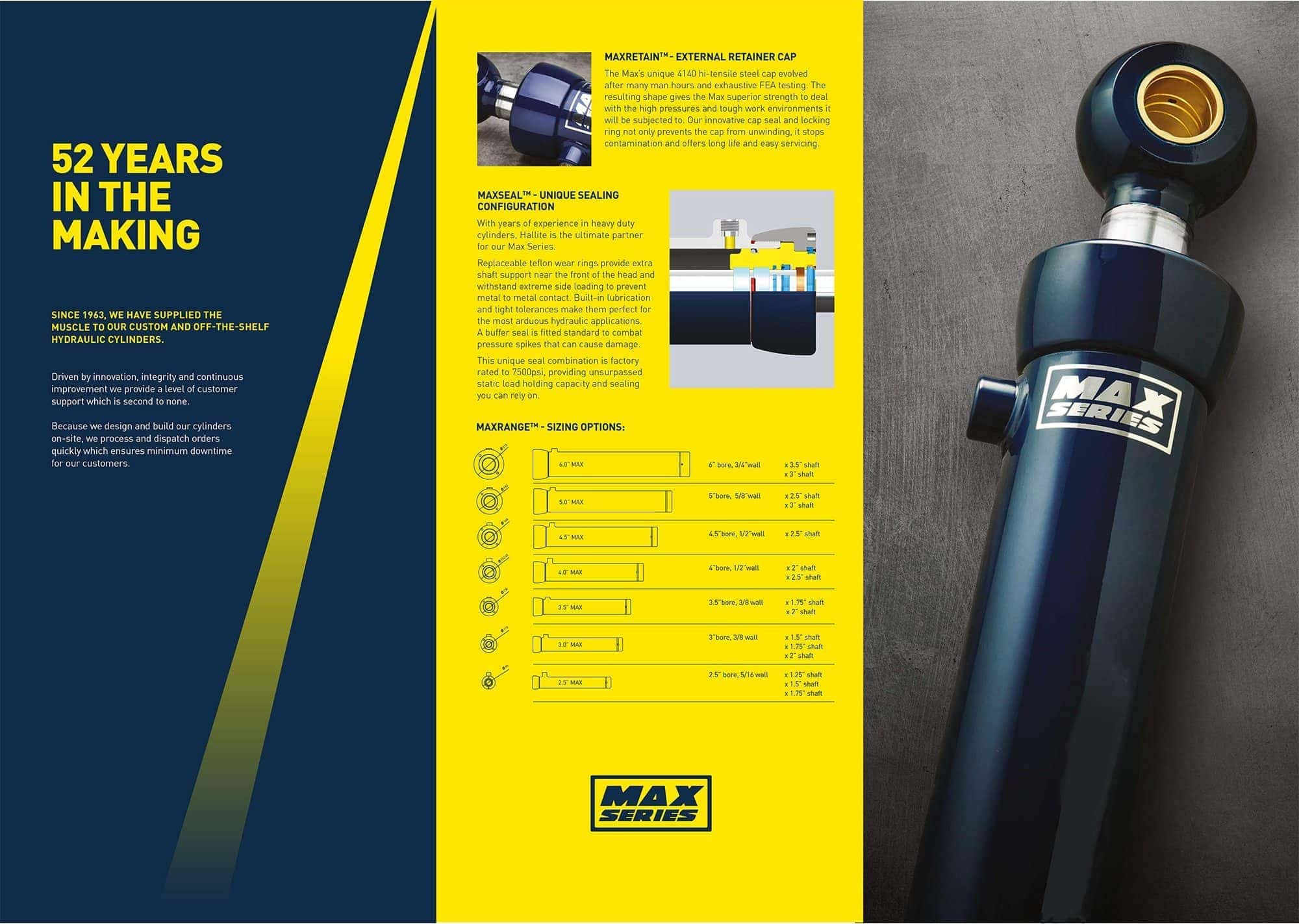 max series high pressure cylinder pdf page 1