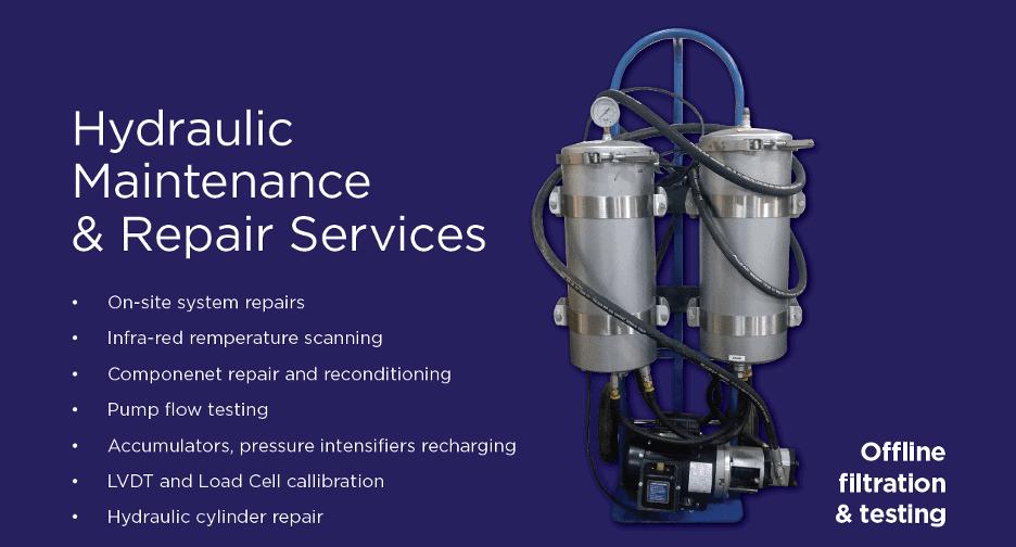 Hydraulic Maintenance & Repair Services