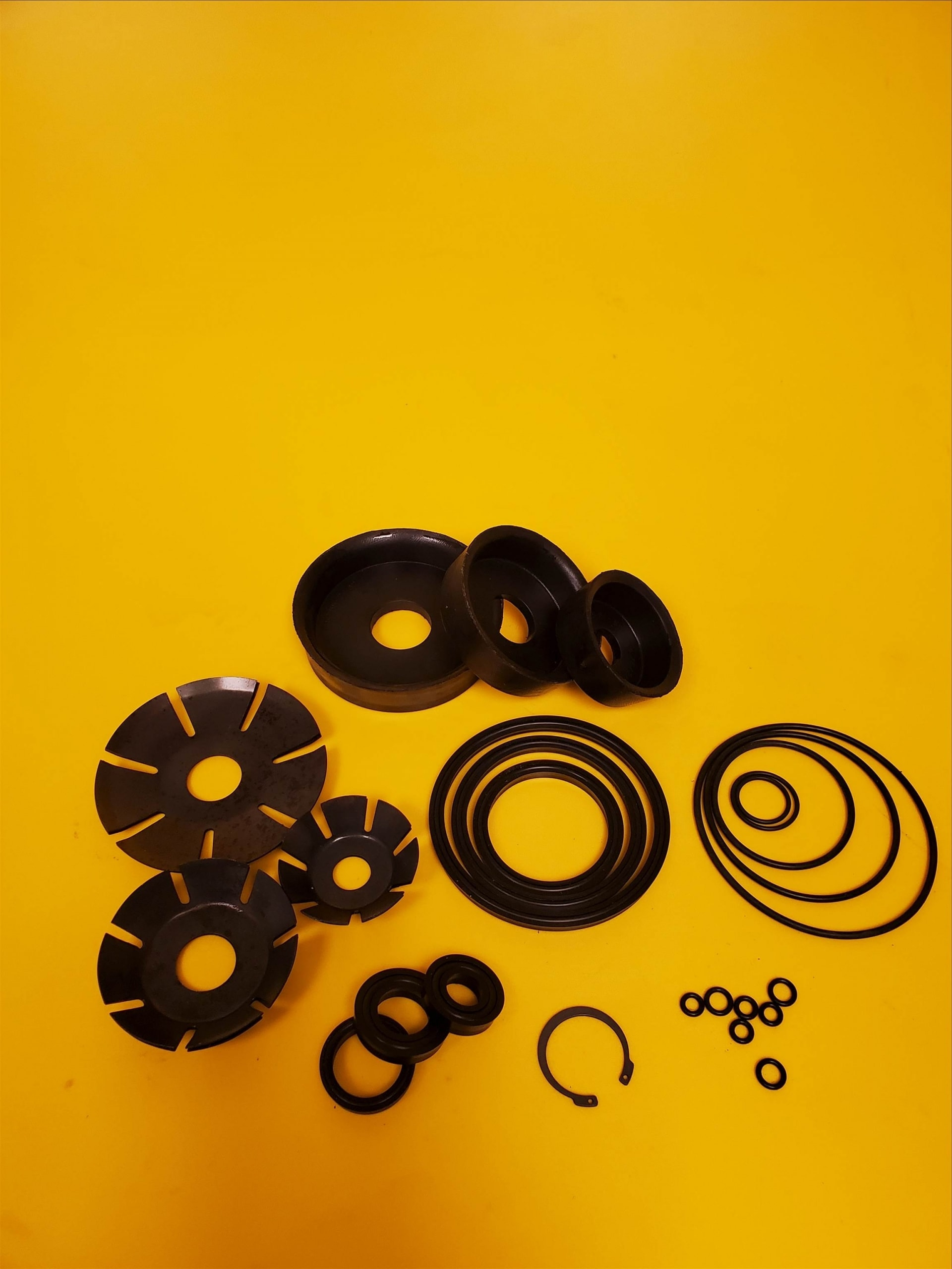 Seal kits are available for all DEL product lines.